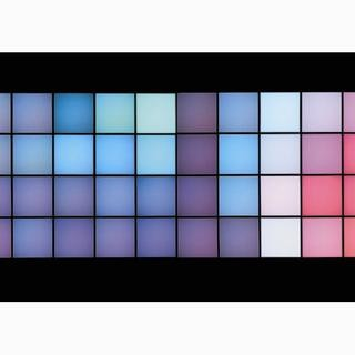 Horizontal Technicolour: Stills with Negative Space art for sale