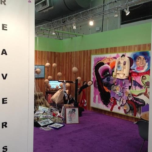 News & Events 4 Unconventional Booths at the Armory Show