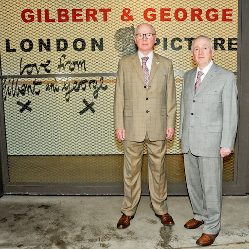 Gilbert & George on Brutal Beauty