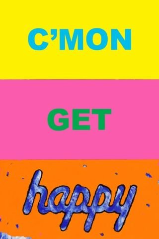 Deborah Kass C'mon Get Happy art for sale