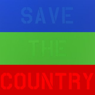 Save The Country Now art for sale