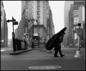 USA. NYC. 1958. Bill Crow., by Dennis Stock
