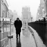 Dennis Stock, USA. New York City. 1955. James Dean haunted Times Square. For a novice actor in the fifties this was the place to go. The Actors Studio, directed by Lee Strasberg, was in its heyday and just a block away.