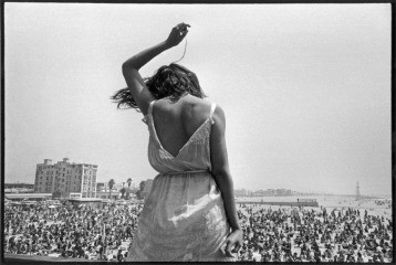 USA. California. 1968. Venice Beach Rock Festival., by Dennis Stock