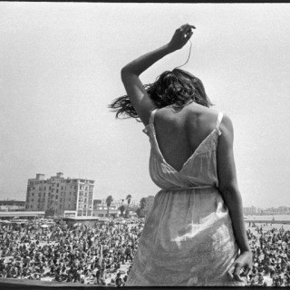 USA. California. 1968. Venice Beach Rock Festival. art for sale