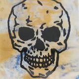 Donald Baechler, Untitled (Skull)