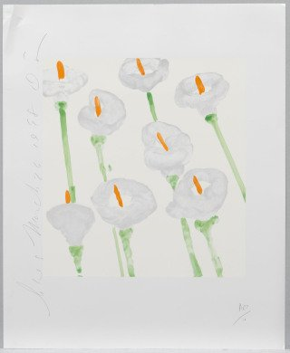 Donald Sultan Lilies art for sale