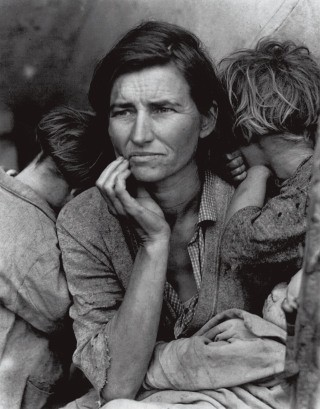 Migrant Mother, Nipomo, California, 1936, by <a href='/site-admin/artists/artist/950'>Dorothea  Lange </a>