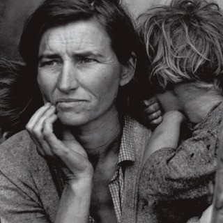 Migrant Mother, Nipomo, California, 1936, by Dorothea  Lange