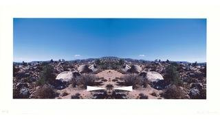 Bow-Tie Palm Springs (Bow-Tie Landscapes), by Ed Ruscha