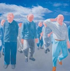 Series 2, No.4, 1992, by Fang Lijun