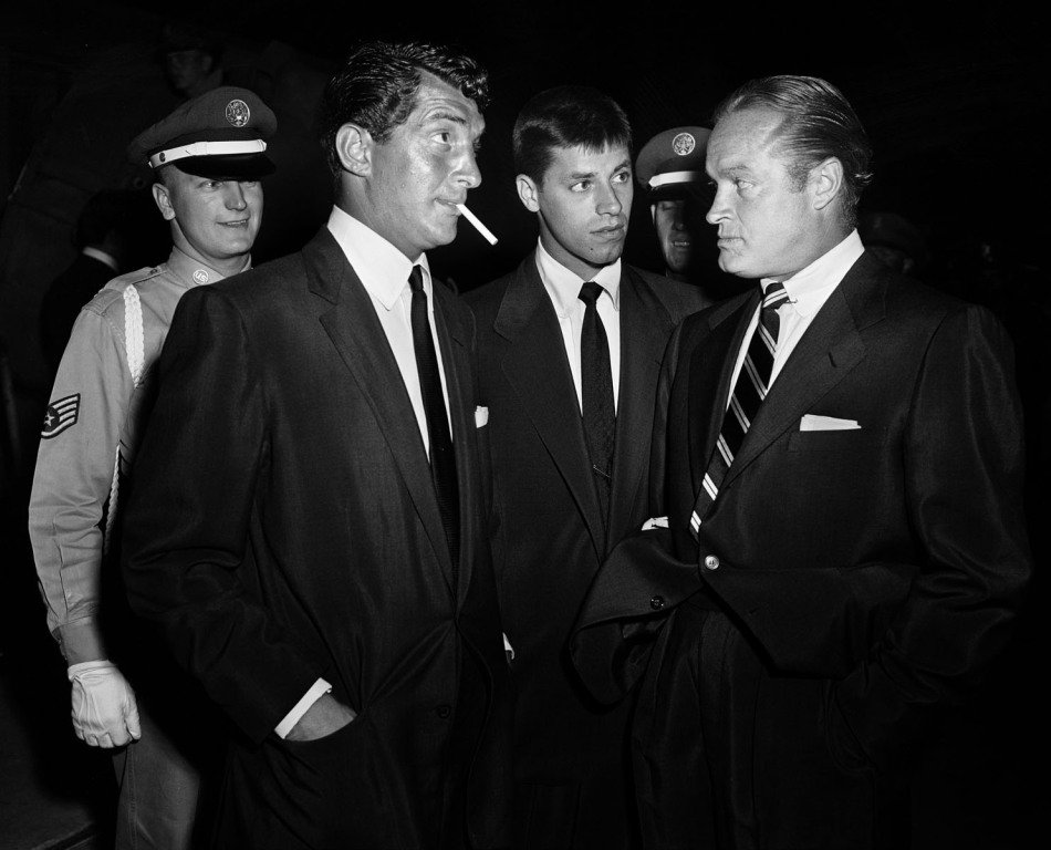Frank Worth, Dean Martin, Jerry Lewis, Bob Hope