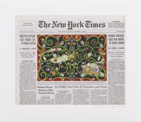 Sept. 15, 2005, by Fred Tomaselli