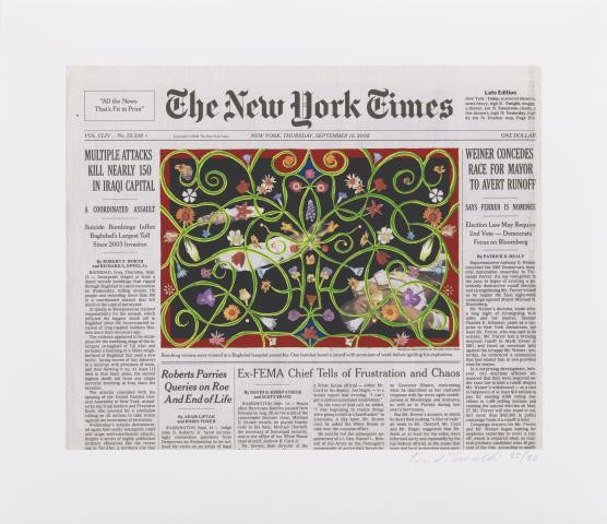 Fred Tomaselli, Sept. 15, 2005