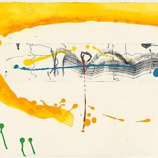 Making Music, by Helen Frankenthaler