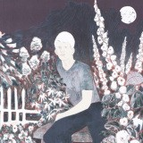 Hernan Bas, The Albino in the Moonlight Garden