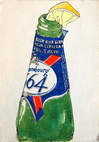 Hope Gangloff Kronenbourg CITRON art for sale