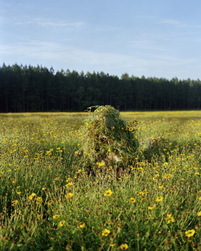 Jeremy Chandler, Ghillie Suit 1 (Flowers)