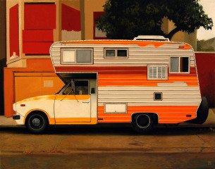 Jessica Hess Citrus Camper art for sale