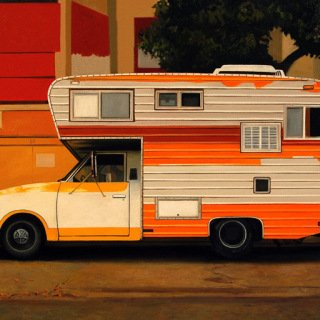 Citrus Camper art for sale
