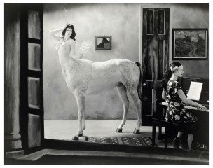 Night in a Small Town, 2007, by Joel-Peter Witkin