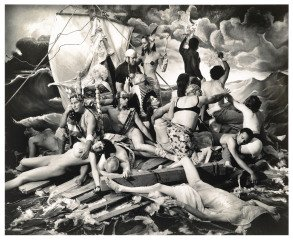 The Raft of George W. Bush, 2006, by Joel-Peter Witkin