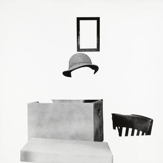 Box, Hat, Frame and Chair art for sale