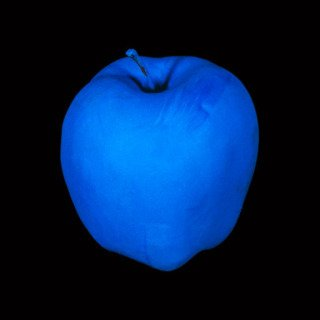 John Baldessari, Millenium Piece (with Blue Apple)