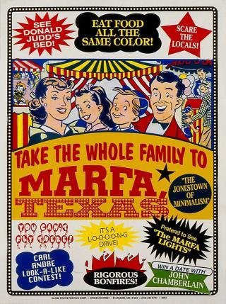 Visit Marfa, by John Waters