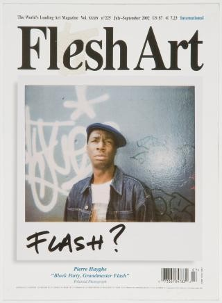 Jonathan Monk Remake (Flash Art July-September 2002) art for sale