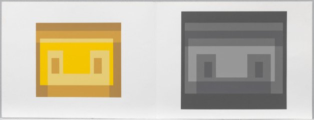 Josef Albers Formulation: Articulation (Portfolio 1, Folder 30) art for sale