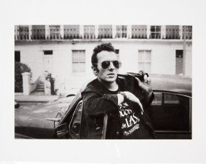 Josh Cheuse Joe Strummer, London 1985 art for sale