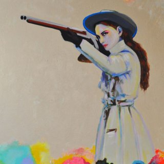 Joshua Petker, Untitled (SPAGHETTI WESTERN I)