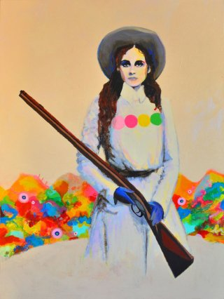 Joshua Petker Untitled (SPAGHETTI WESTERN II) art for sale
