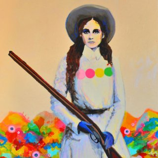 Untitled (SPAGHETTI WESTERN II) art for sale