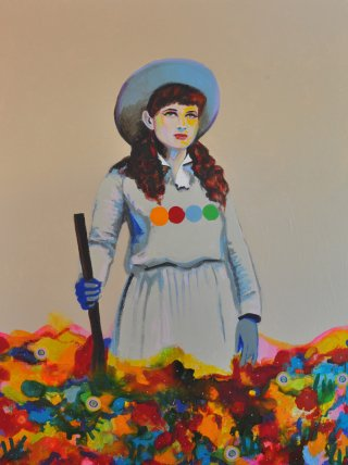 Joshua Petker Untitled (SPAGHETTI WESTERN IV) art for sale