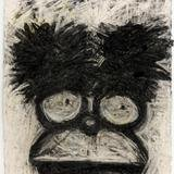 Joyce Pensato, Bushy Homer