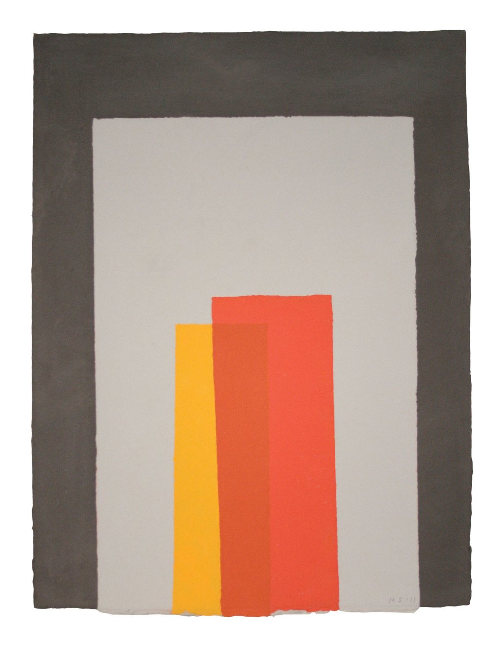 Kate Shepherd, Color Trope Black, Gray, Reds, Orange