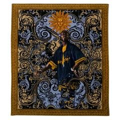 Beach Towel, by Kehinde Wiley