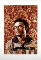 Golden Paisley, by Kehinde Wiley