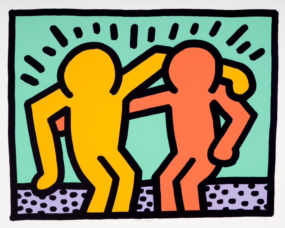 Keith Haring  Best Buddies For Sale Artspace
