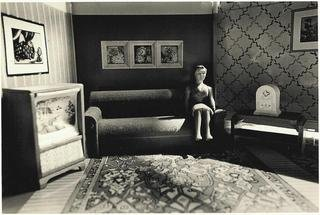 Woman Listening to the Radio, by Laurie Simmons