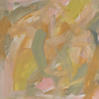 Untitled (pale pink pale olive yellow ochre) art for sale