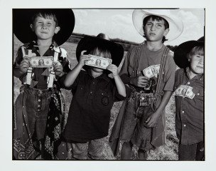 Young Bull Riders, by Mary Ellen Mark