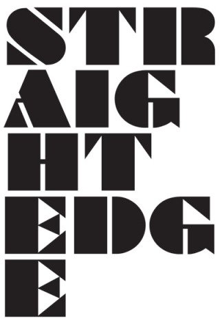 Straight Edge, by <a href='/site-admin/artists/artist/500'>New Humans </a>