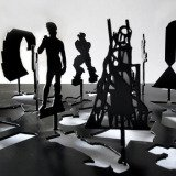 Peter Coffin, Untitled (Sculpture Silhouette Model)