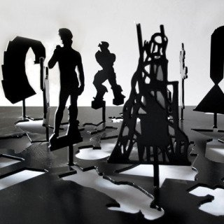 Untitled (Sculpture Silhouette Model) art for sale