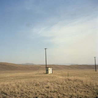 Montana. Local airport near Chico hot springs. 2000 art for sale
