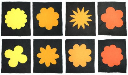 Polly Apfelbaum Power to the Flower art for sale