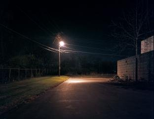 Untitled (Something In The Night), by Poppy de Villeneuve